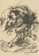 Lovis Corinth - Weiblicher Studienkopf I