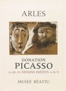 Pablo Picasso - Plakat: Arles - Donation Picasso