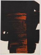 Pierre Soulages - Lithographie no° 26