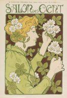 Herbinier, Arsène - Ausstellungsplakat: Salon des Cent