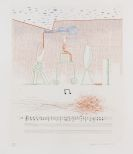 Hockney, David - Etching in colors