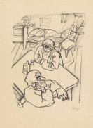 George Grosz - Zwei M�nner