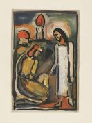 Rouault, Georges - Etching and aquatint in colors