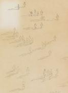 Unbekannt - Bleistiftzeichnung