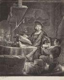 Rembrandt van Rijn, Harmensz. - Radierung