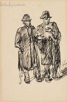 Max Liebermann - Zwei Spazierg�nger