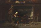 Hoguet, Charles - Oil on panel