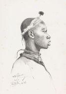 Kuhnert, Wilhelm - Bleistiftzeichnung