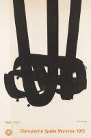 Pierre Soulages - Lithographie no. 29