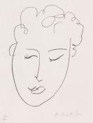 Henri Matisse - Jules Romains (Frontispiz von Pierres levées)