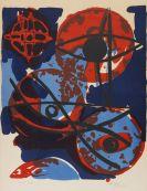 Nay, Ernst Wilhelm - Farblithografie