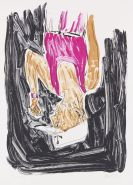 Baselitz, Georg - Lithograph in colors