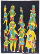 Bethe-Sélassié, Mickael - Lithograph in colors