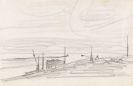Feininger, Lyonel - Mole mit Boot