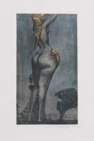 Fuchs, Ernst - Etching in colors