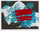 Shiraga, Kazuo - Silkscreen in colors