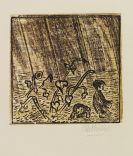 Pankok, Otto - Woodcut