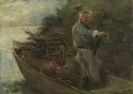 Wopfner, Joseph - Oil on canvas