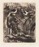 Marc Chagall - Le loup et la cigogne