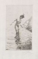 Zorn, Anders - Etching