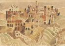 Eduard Bargheer - Ansicht von Siena