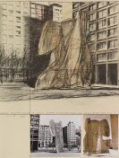 Christo - Wrapped Sylvette, Project for Washington Square Village, New York