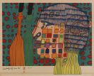 Hundertwasser, Friedensreich - Farblithografie