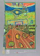 Hundertwasser, Friedensreich - Silkscreen