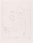 Janssen, Horst - Lithografie