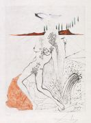 Salvador Dalí - Nu à la fontaine