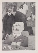 Grosz, George - Offset lithograph