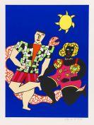 Saint-Phalle, Niki de - Silkscreen in colors