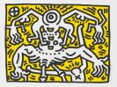 Haring, Keith - Farblithografie