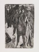 Kirchner, Ernst Ludwig - Etching