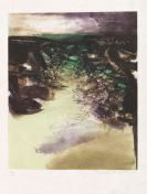 Wou-Ki, Zao - Etching and aquatint in colors