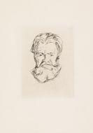 Munch, Edvard - Kaltnadelradierung