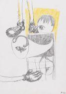 Richter, Daniel - Bleistiftzeichnung