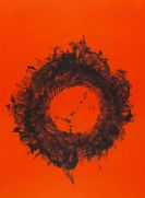 Piene, Otto - Lithograph in colors