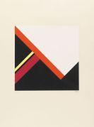 Walter Dexel - Diagonalkonstruktion im Quadrat I