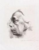 Kollwitz, Käthe - Kreidelithografie