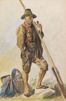 Voltz, Friedrich - Aquarell