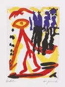 Penck (d.i. Ralf Winkler), A. R. - Farbaquatinta