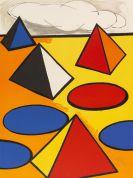 Calder, Alexander - Farblithografie