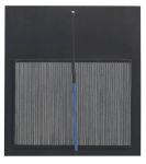 Jesús Raphael Soto - Incliné bleu et noir