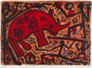 Penck (d.i. Ralf Winkler), A. R. - Farblithografie