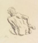 Kolbe, Georg - Chalk drawing