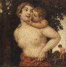 Zumbusch, Ludwig von - Oil on paper