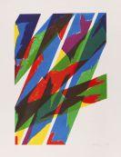 Dorazio, Piero - Lithograph in colors