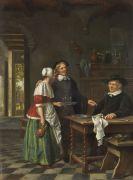 Akkersdijk, Jacob - Öl auf Holz