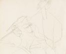 Kirchner, Ernst Ludwig - Pencil drawing